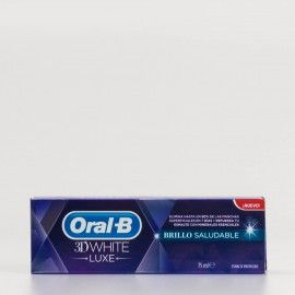 Oral B 3D White Brillo saludable, 75ml