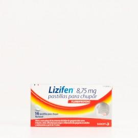 Lizifen 8,75 mg pastilas para chupar, 16 Uds.