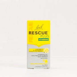 Bach Rescue Plus Vitaminas Spray, 20ml.