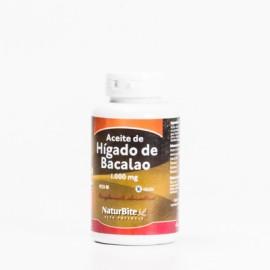 Naturbite Aceite Hígado Bacalao, 90 Caps.