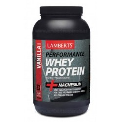 LAMBERTS Whey Protein. Sabor a Vainilla, 1000g.