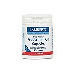 LAMBERTS Aceite de Menta 100 mg, 90 cápsulas.