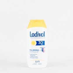 Ladival Pieles Sensibles SPF30 Gel-Crema, 200ml.