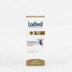Ladival Anti-manchas SPF50+ Emulsion con Color, 50ml.