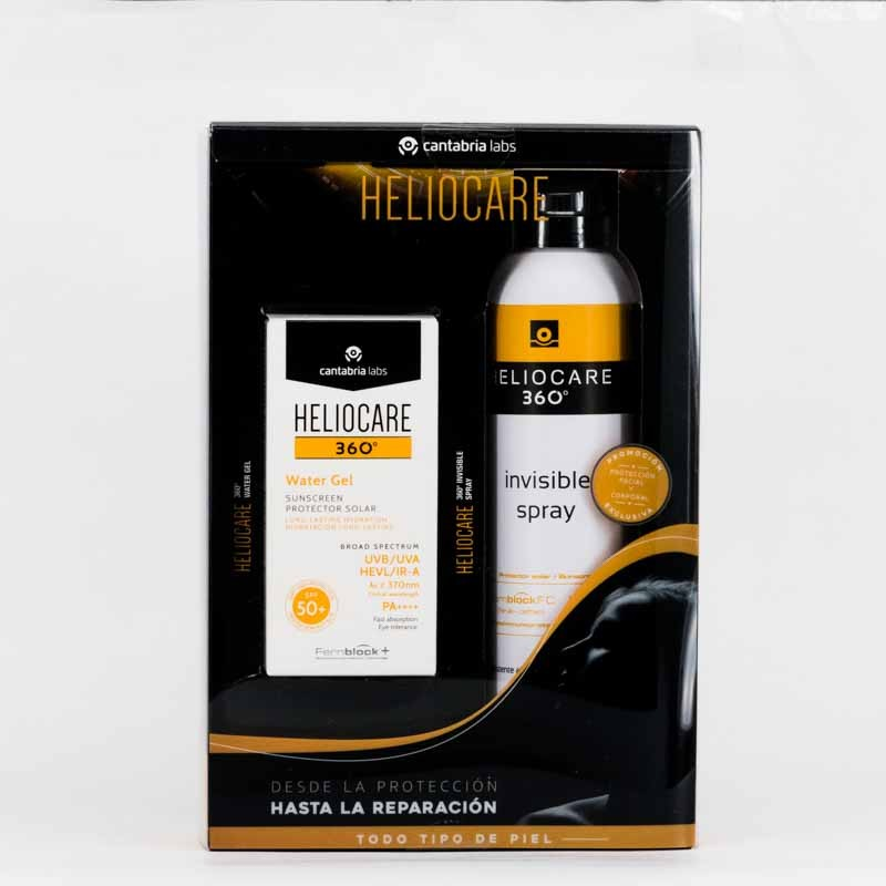 Heliocare 360 Pack Solidario Invisible + Water Gel