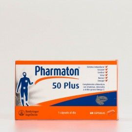 Pharmaton 50 Plus, 60 cápsulas