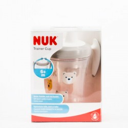 NUK Trainer Cup Vaso de entrenamiento +6m, 230ml.