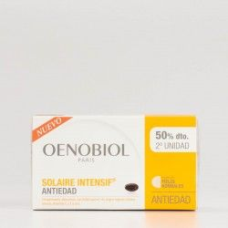 Oenobiol Solaire Intensif Antiedad, 2x30 cápsulas