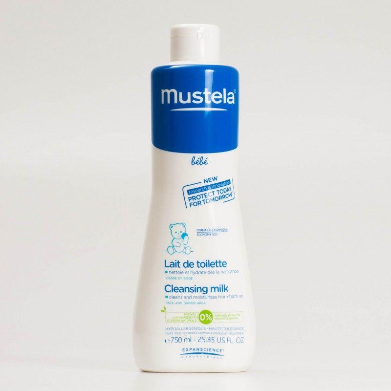 mustela lait de toilette hidratante