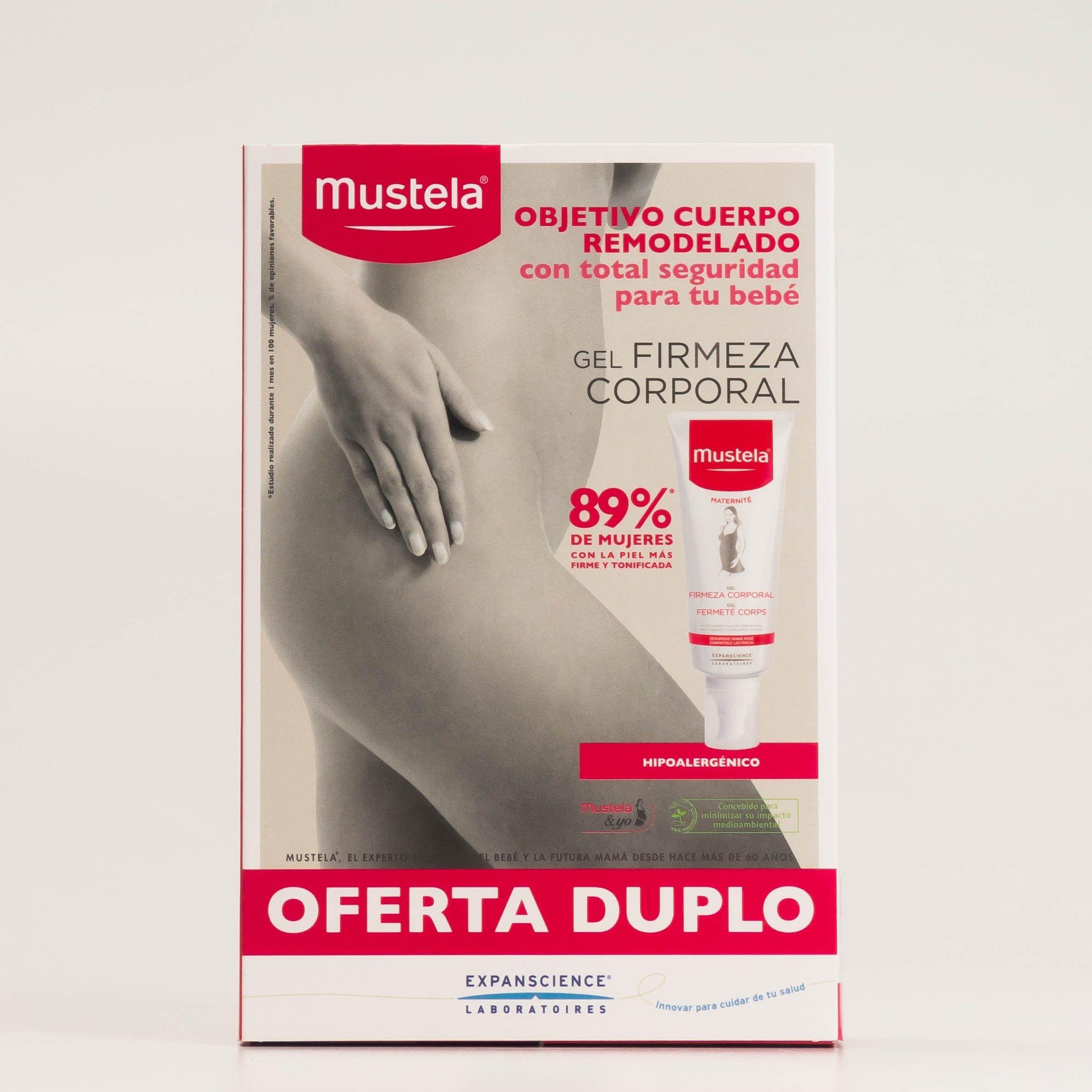 Mustela Gel Firmeza Corporal DUPLO, 2x200 ml.