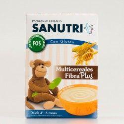 Sanutri Multicereales Fibra Plus, 600g.