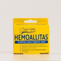 Hemoallitas 10 toallitas