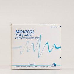 Movicol 13,8 gramos 30 sobres, polvo para solución oral. Con receta