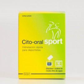 Cito-oral Sport, 10 bolsas.