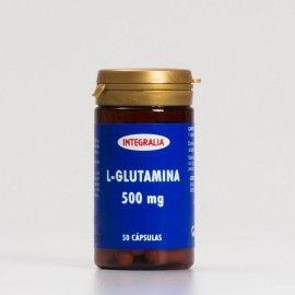 L-Glutamina Integralia, 50 cápsulas.