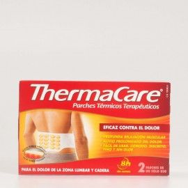 Thermacare Lumbar y Cadera, 2 parches.