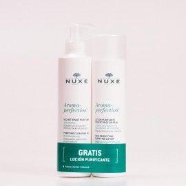 NUXE Aroma Perfection Gel Limpiador Purificante + REGALO Loción Purificante.