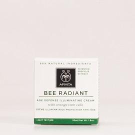 Apivita Bee Radiant Crema iluminadora Ligera