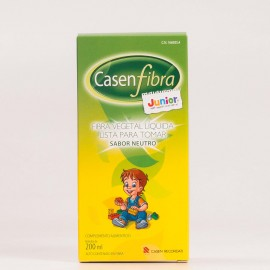 Casen Fibra Vegetal Junior Liquido, 200ml.