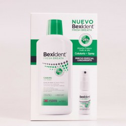 Bexident Fresh Breath Pack Colutorio + Spray
