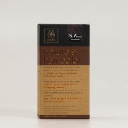 Tinte apivita 5.7 marrón-beige