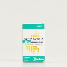 Ultra Levura 50mg 50 cápsulas duras