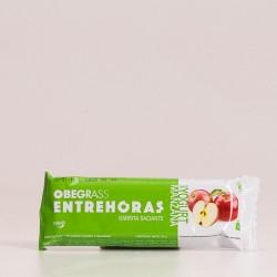 Obegrass Entrehoras Barrita Saciante Yogur y Manzana.
