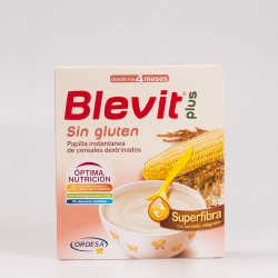 Blevit Plus Superfibra Sin Gluten, 600gr.