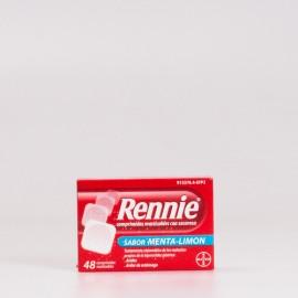 Digestivo Rennie Menta-Limón, 48 comprimidos.