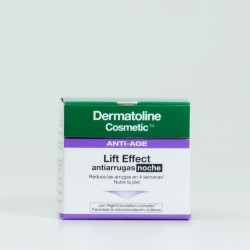 Dermatoline Lift Effect Noche Antiarrugas, 50ml.