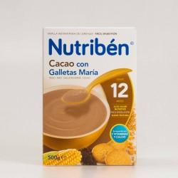 Nutribén Cacao con Galletas María, 500g.