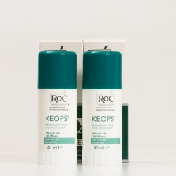Roc Keops Desodorante Roll-On Piel Normal. 2x30ml