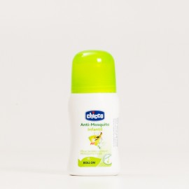 Chicco Antimosquitos repelente roll-on, 60ml.