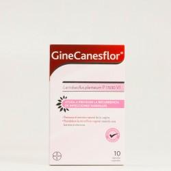GineCanesflor Cápsulas Vaginales, 10Caps.