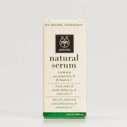 Apivita Natural Serum Radiance. 15ml