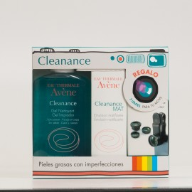 Avene Pack Cleanance Gel Limpiador + Emulsion Mat