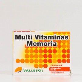 Multi Vitaminas memoria Vallesol 40 capsulas