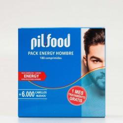 pilfood complex pack energy hombre, 180 comprimidos