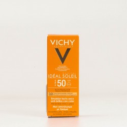 Vichy Ideal Soleil BB Emulsión Color SPF50, 50ml