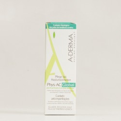 A-Derma Phys-AC Global cuidado anti-imperfecciones, 40ml.