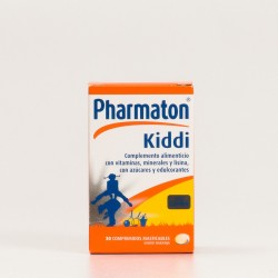 Pharmaton Kiddi, 30 Comp Masticables.