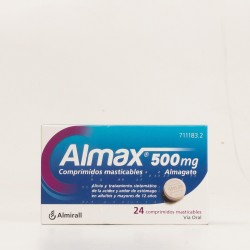 Almax 500mg, 24 Comp. Masticables.