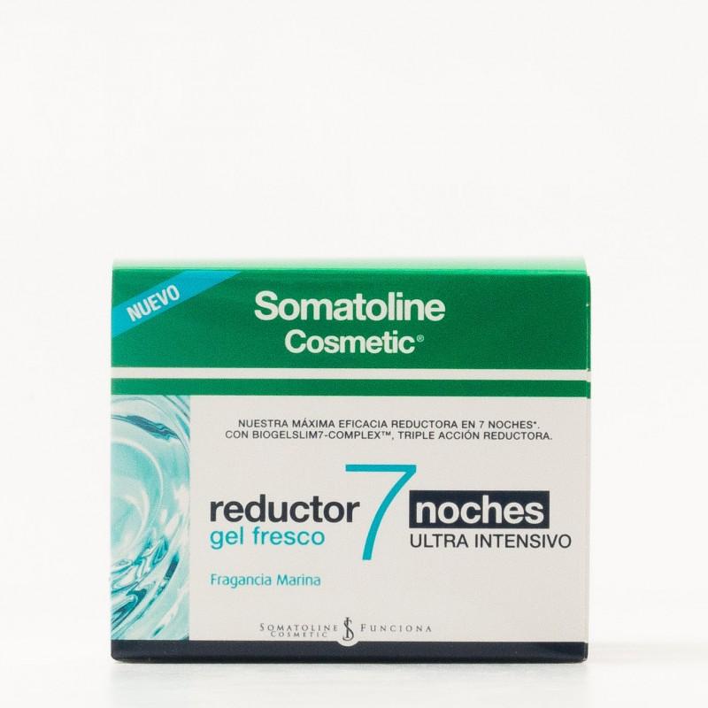 Somatoline Cosmetic Reductor 7 noche gel fresco anticelulitis
