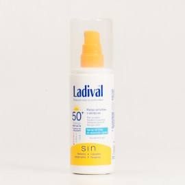 Ladival Piel Sensible Alergica SPF50+ Gel Spray, 150ml.
