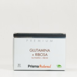 Prisma Natural Premium Glutamina + Ribosa, 30 sticks.