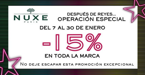 Nuxe 15%
